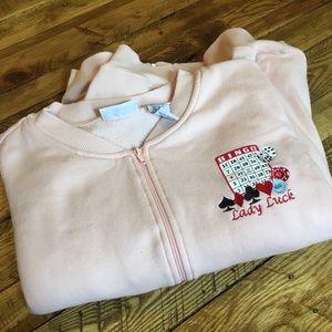 Vintage Bingo Zip Up Sweatshirt 💫